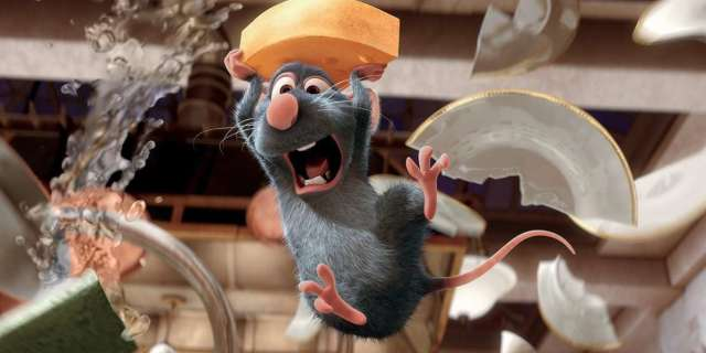 """Patton Oswalt Would """"Absolutely"""" Do a Ratatouille Sequel"""
