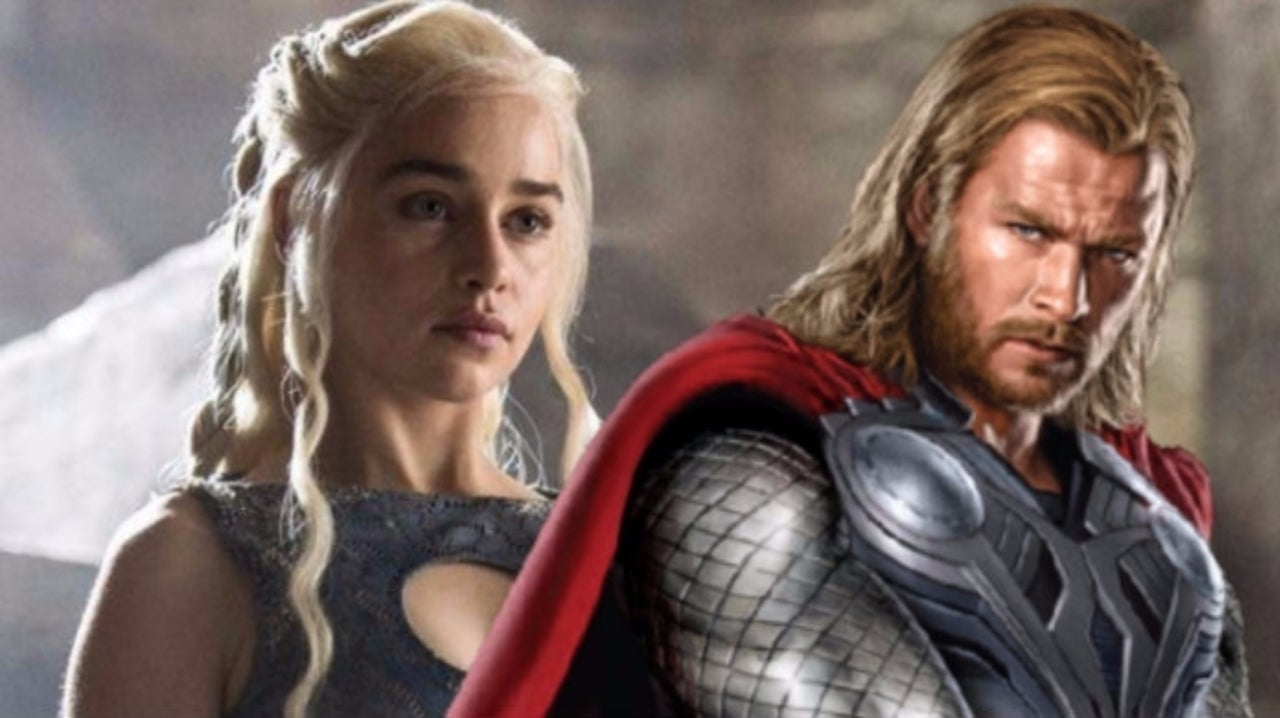 Thor and Daenerys Butt Heads in Game of Thrones/Avengers: Endgame Viral Tweet