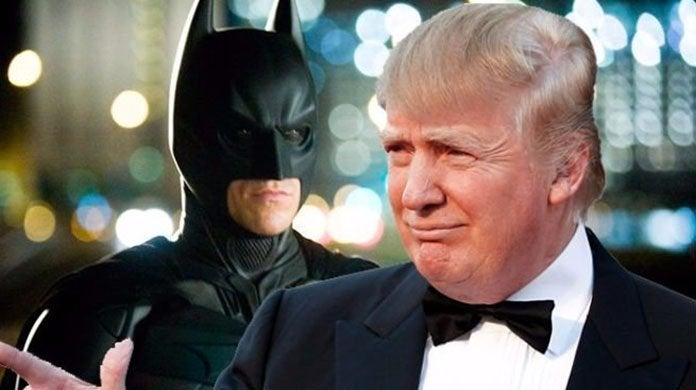 donald trump batman
