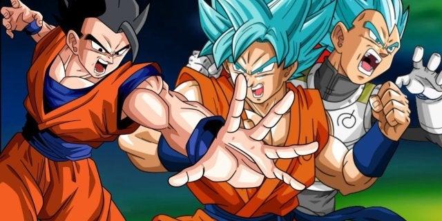 Dragon Ball New Anime Series Preivew Goku Vegeta Gohan