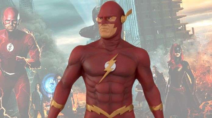 Elseworlds-flash-statue-top