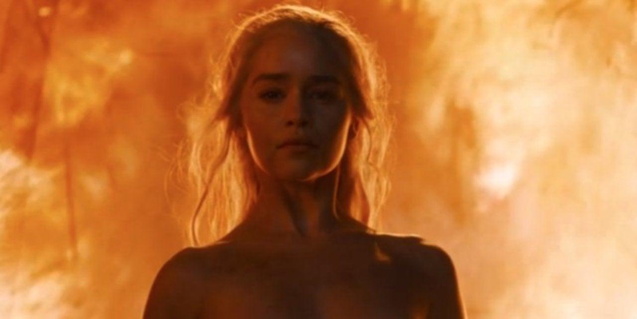 Emilia Clarke Brands Critics Of Game Of Thrones Nude