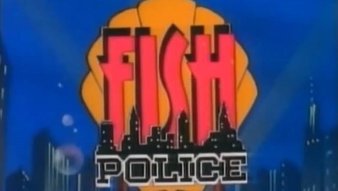 Fish Police animated series of the 90s on CBS
