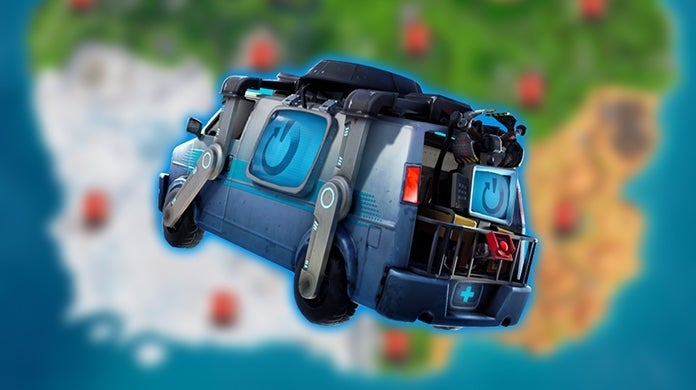 Fortnite Reboot Van Locations