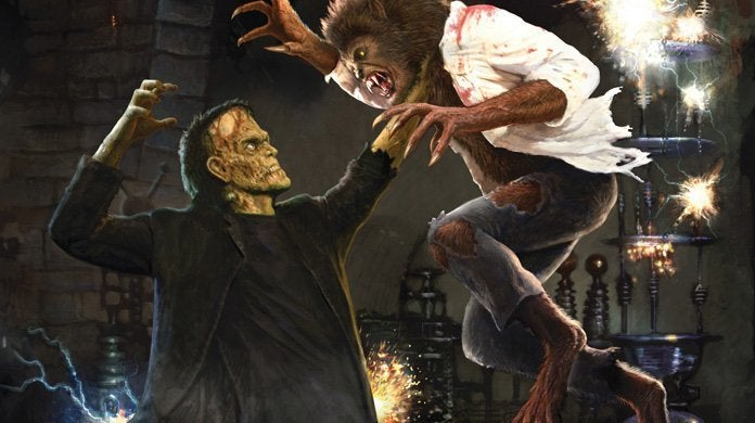 Frankenstein Meets The Wolf Man Maze at Universal Studios Hollywood's Halloween Horror Nights header