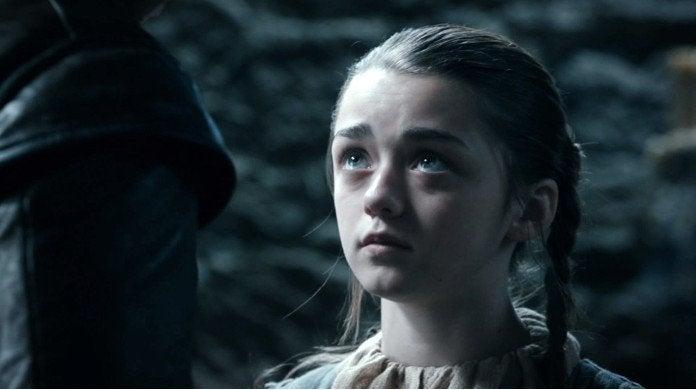 Game of Thrones Arya Stark Jon Snow