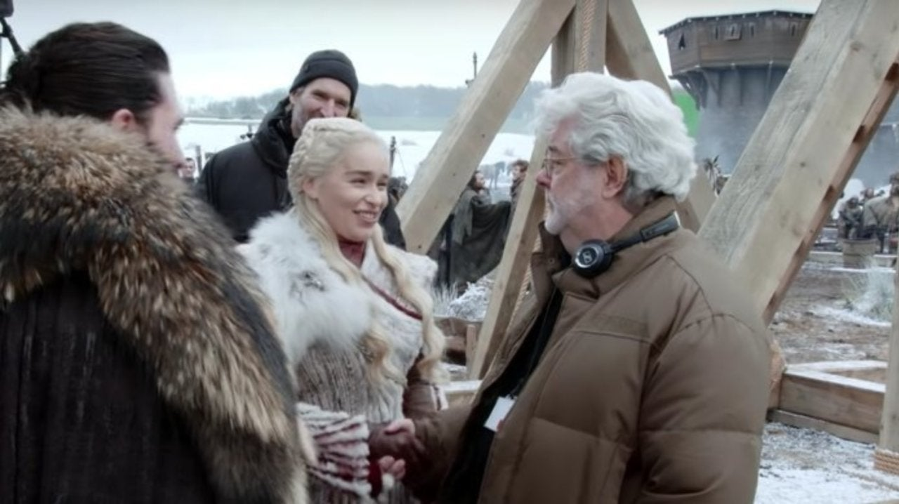 George Lucas Helped Direct the 'Game of Thrones' Season 8 Premiere