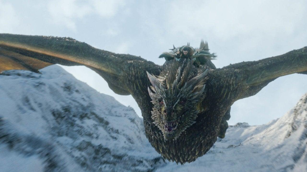 Game of Thrones Rhaegal Dragon