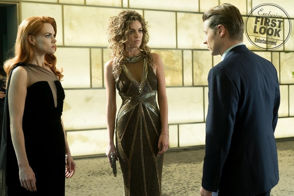 Gotham Finale Lili Simmons as Catwoman