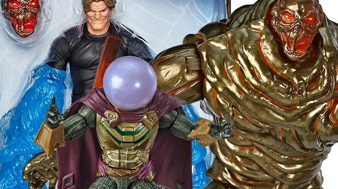 Hasbro 'Spider-Man: Far From Home' Marvel Legends Figures Exclusive Reveal
