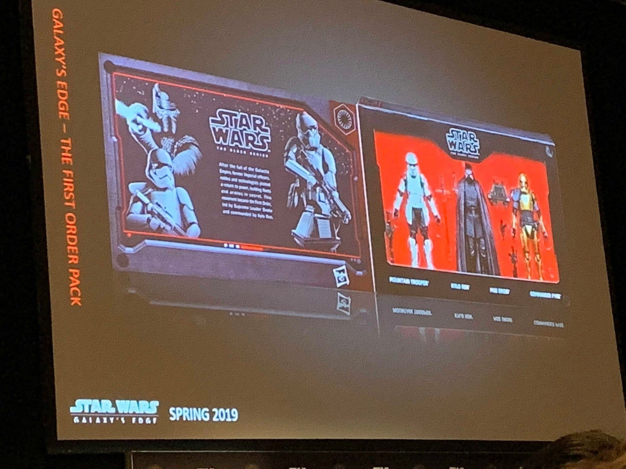 hasbro star wars galaxy's edge first order 1