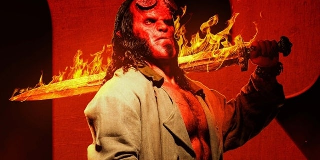 Movie Poster 2019: 'Hellboy' Promises Hard R Rating In Exclusive New Poster