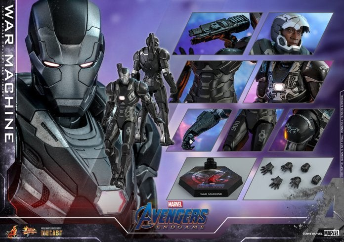 Hot Toys - Avengers 4 - War Machine (Diecast) collectible figure_PR21