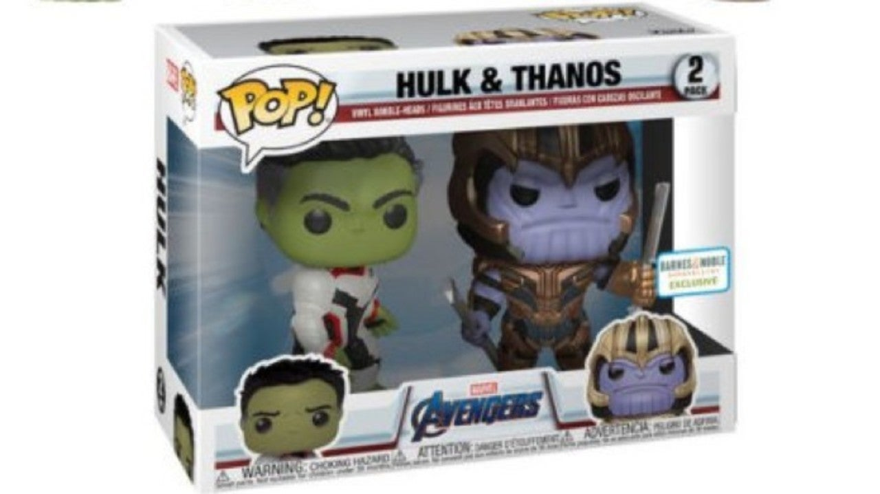 The 'Avengers: Endgame' Hulk and Thanos Funko Pop 2-Pack is Live
