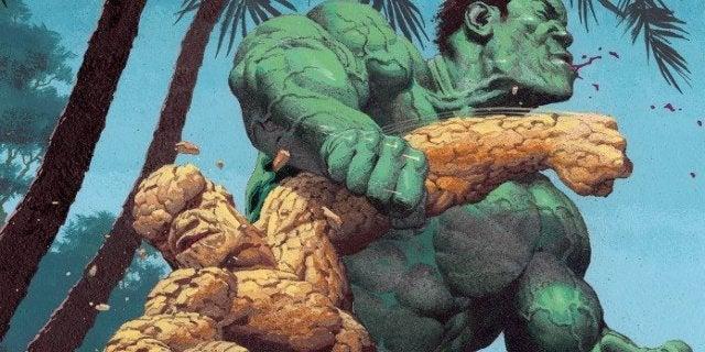 Marvel Teases Hulk vs. Thing