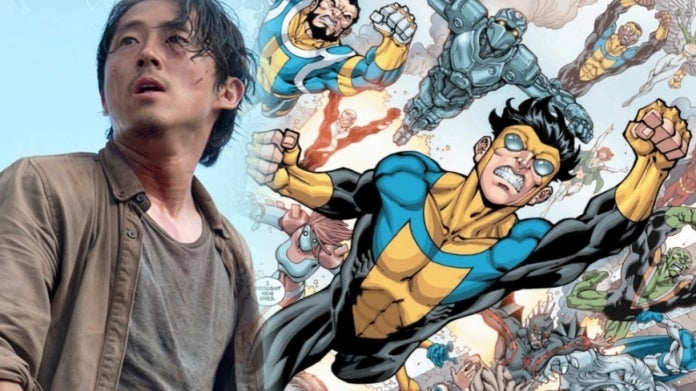 Invincible Walking Dead Steven Yeun