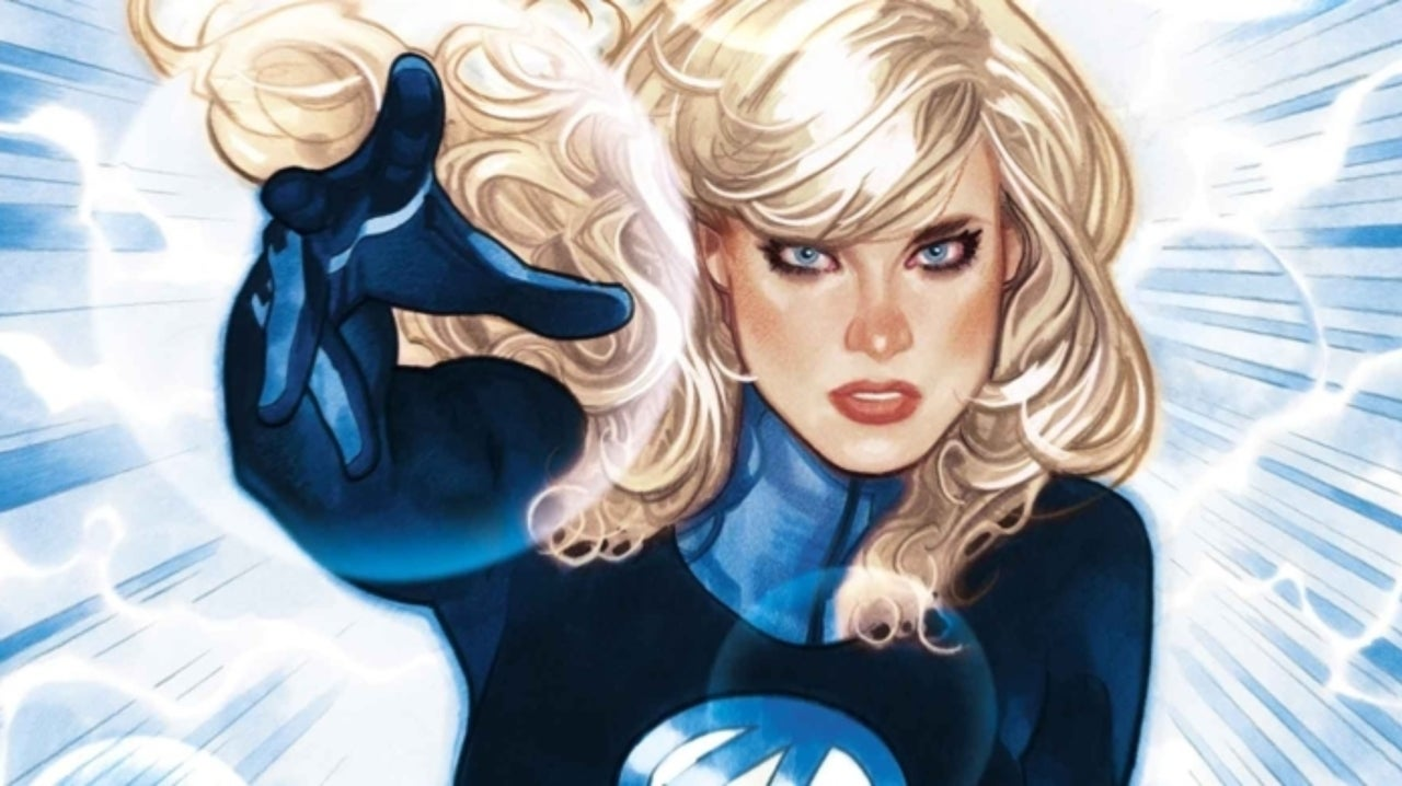 Marvel Announces 'Invisible Woman' Series
