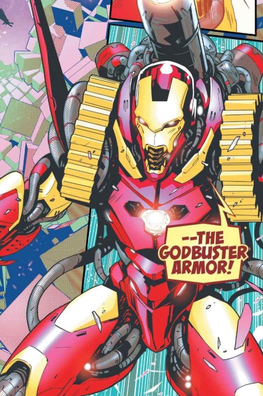 Marvel Debuts New Iron Man Godbuster Armor