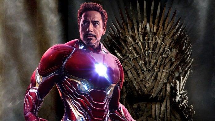 Iron Man Iron Throne Game of Thrones ComicBookcom