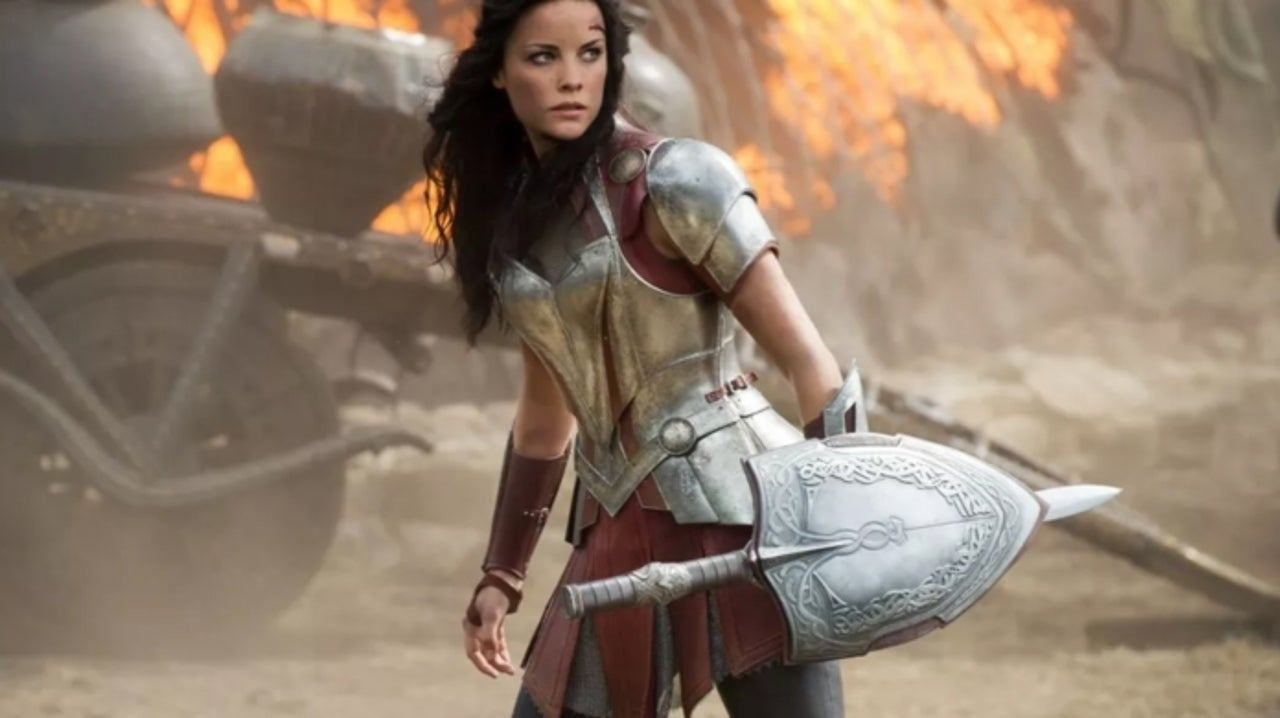 'Thor's Jaimie Alexander Reveals What Goes Under Lady Sif's Armor