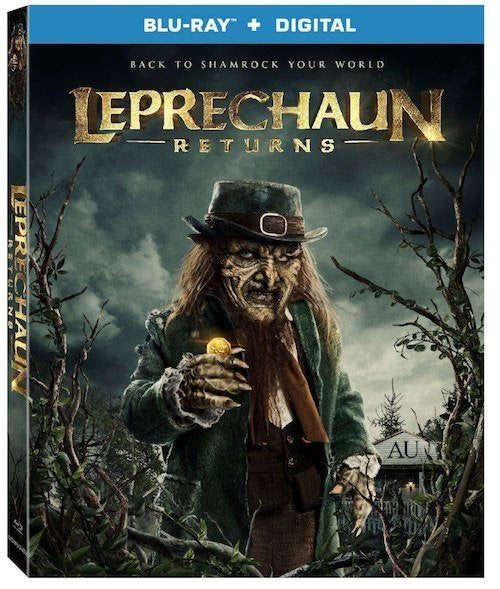 leprechaun returns blu ray