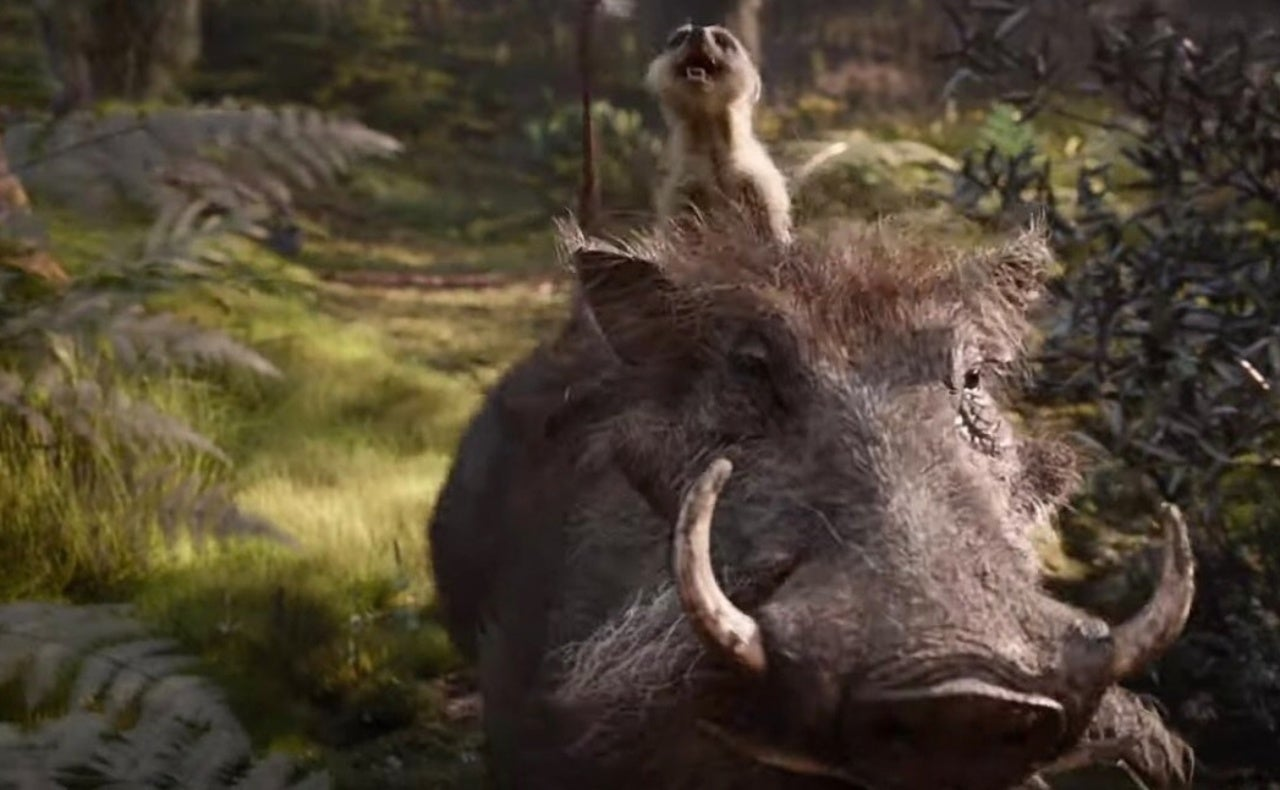 The Lion Kings Live Action Pumbaa Is Giving Disney Fans