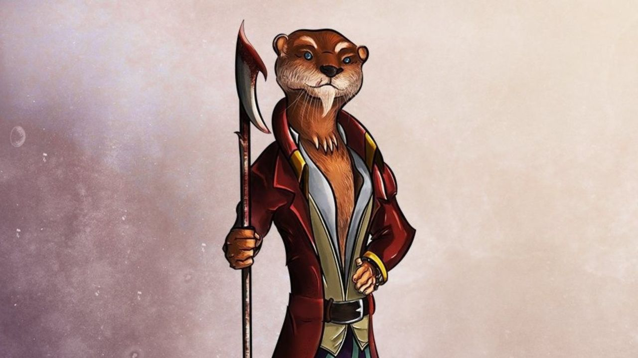 Play as an Otter Person in 'Dungeons & Dragons'