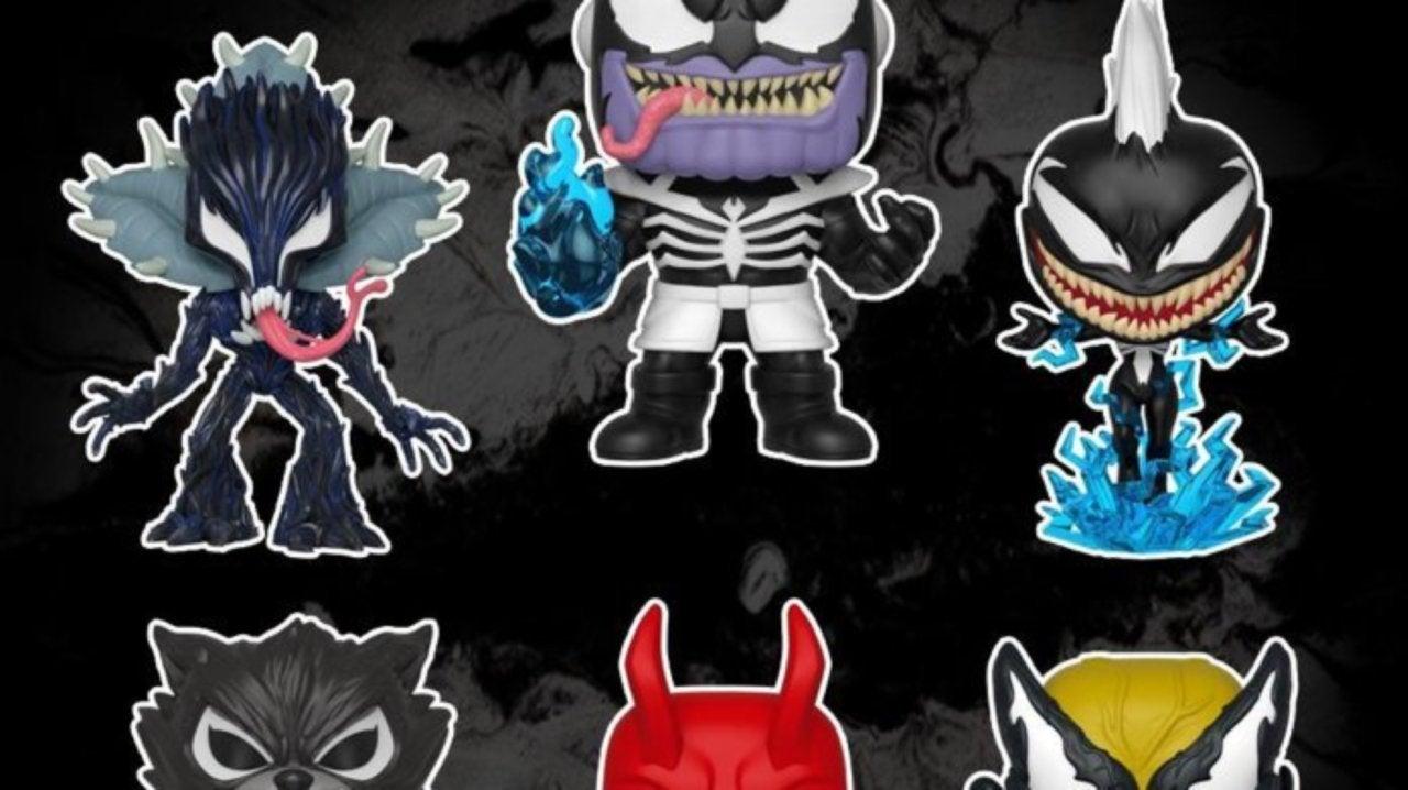 More Marvel Heroes Get Venomized Funko Pop Figures