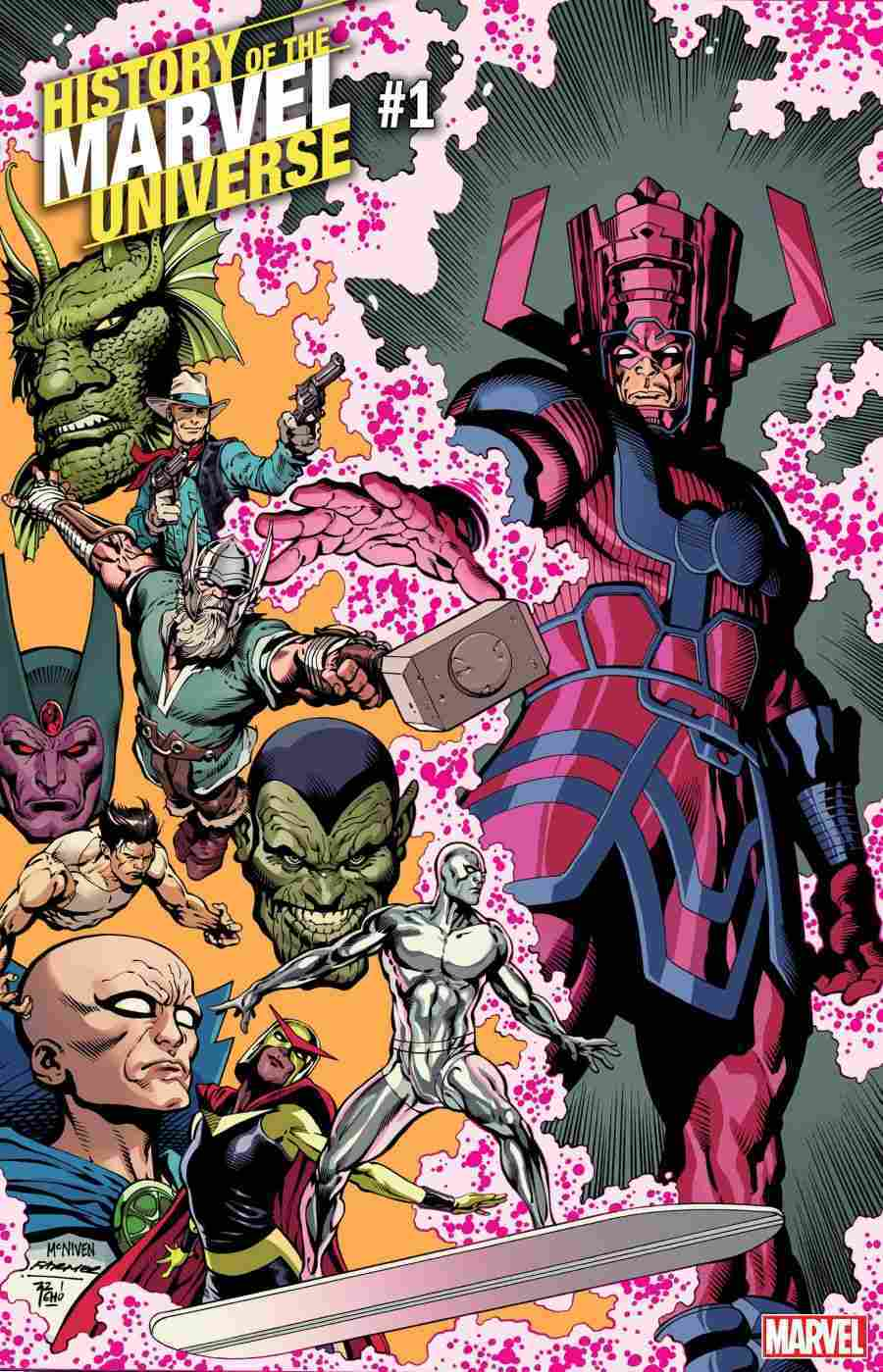 definitive history of the marvel universe to be revealed in new series