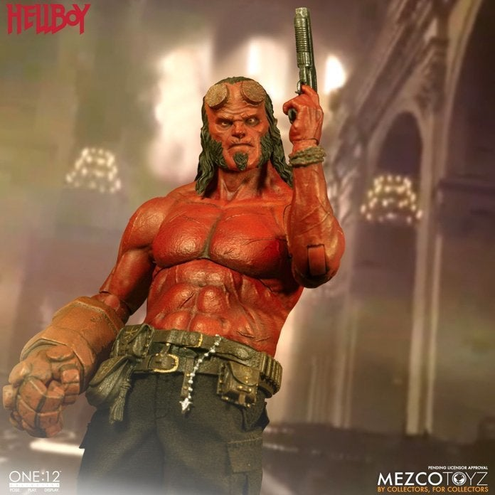 'Hellboy' Reboot One:12 Collective Figure Is Available Now