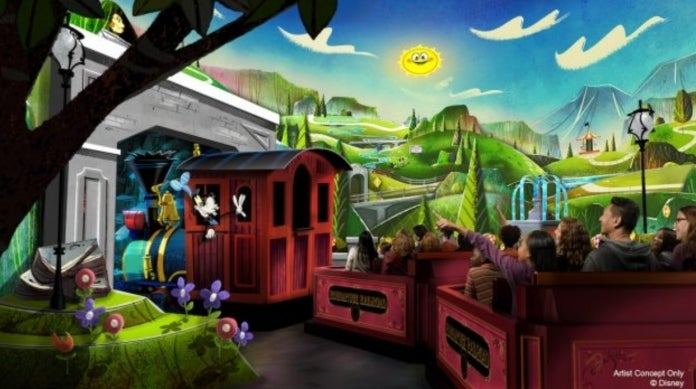 Disneyland Resort Getting Its First-Ever Mickey Mouse Ride