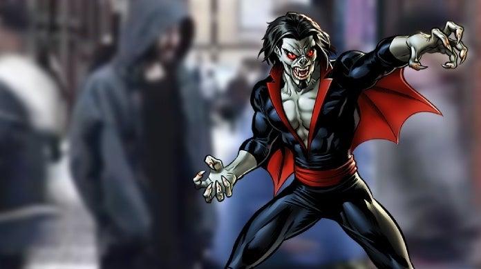 morbius the living vampire movie jared leto first look