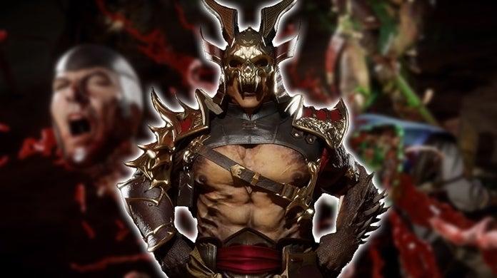 Mortal Kombat 11 Shao Kahn Gameplay