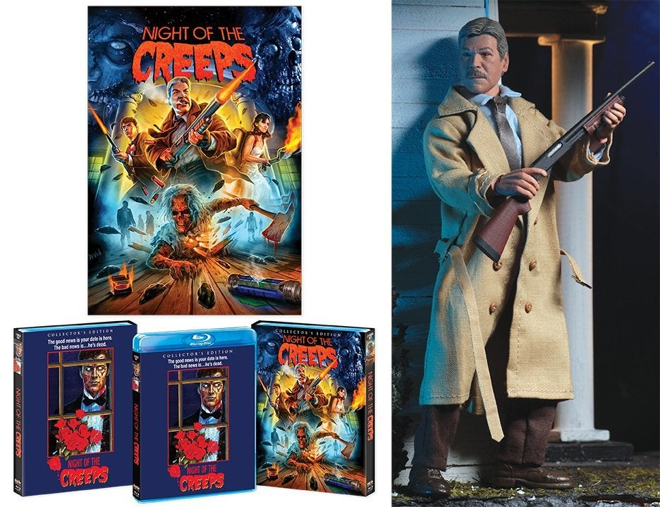 night of the creeps blu-ray collector's edition figure