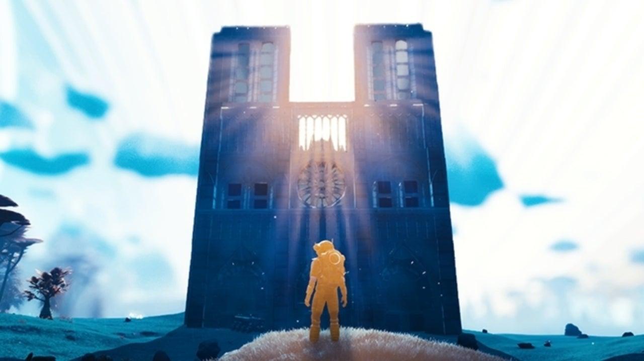 'No Man's Sky' Player Impressively Recreates Notre-Dame