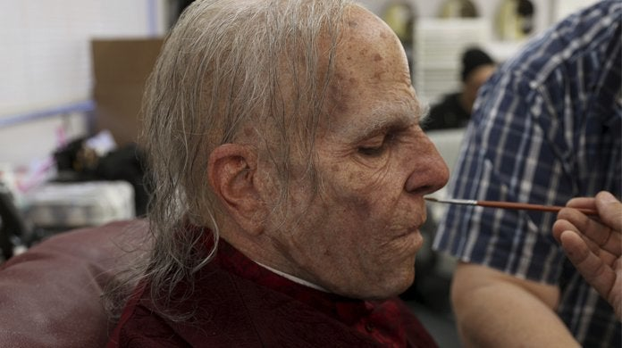 nos4a2 zachary quinto makeup behind the scenes