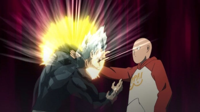 One-Punch Man Season 2 Episode 3 Saitama vs Garou Powers Levels