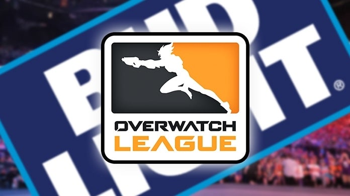 Overwatch League Bud Light Sponsor