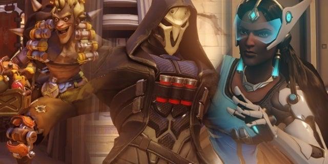 Overwatch update Junkrat Reaper Symmetra