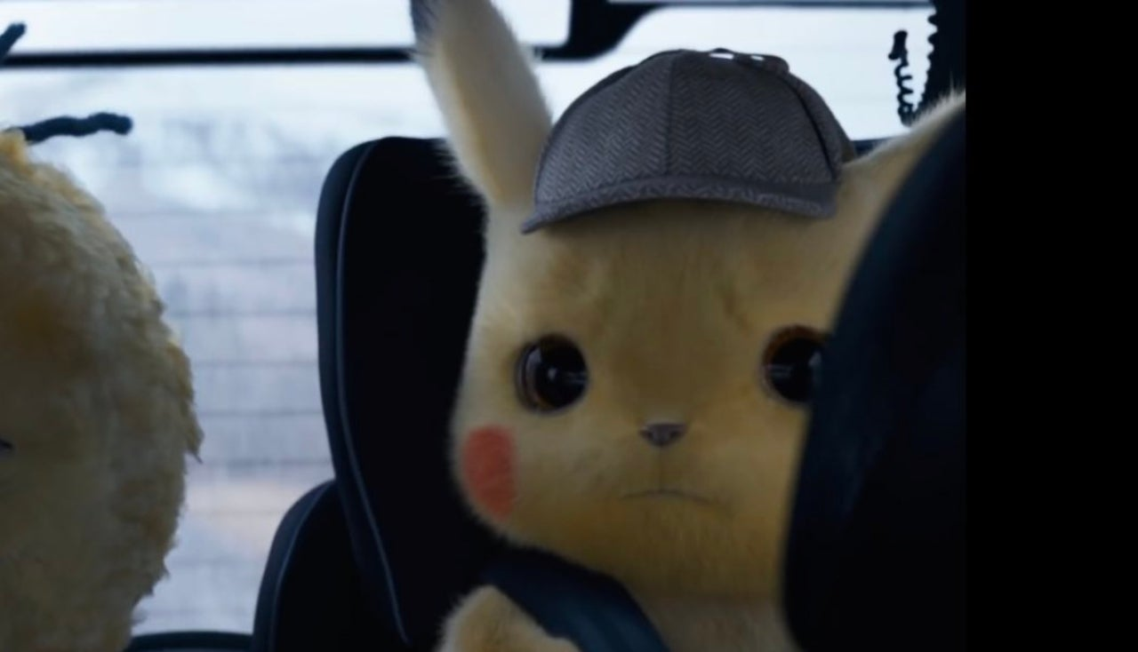 Detective Pikachu Rides In A Car Seat And Fans Are In Love