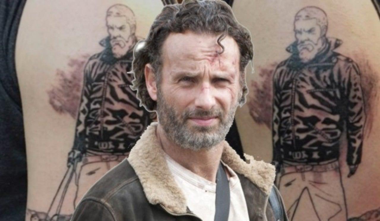 'The Walking Dead' Fan Gets Epic Rick Grimes Tattoo