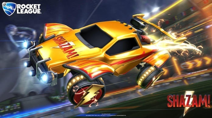 'Rocket League' Crosses Over With 'Shazam' With New Items