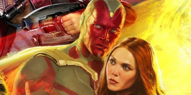 First WandaVision Image of Elizabeth Olsen and Paul Bettany Revealed at CCXP