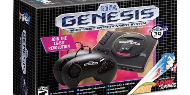 Last Call for Sega Genesis Mini Pre-Orders