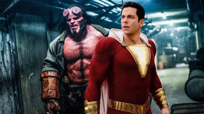 Shazam Hellboy Box Office