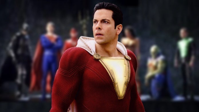 shazam justice league mortal