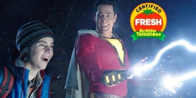 Shazam Movie Rotten Tomatoes Score