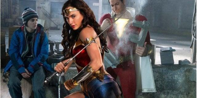Shazam Wonder Woman Gal Gadot