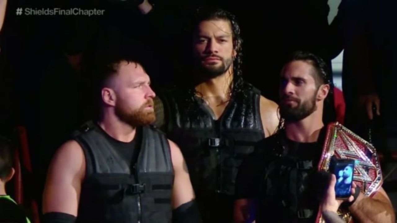 Seth Rollins Wears Throwback Gear for 'The Shield's Final Chapter'