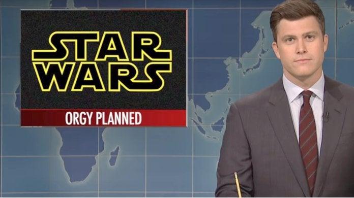 SNL Star Wars Orgy